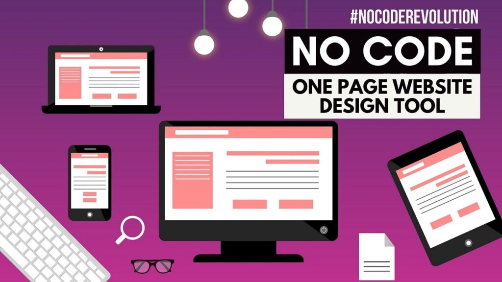 How to make One Page Website Design with Carrd - A No Code One Page Website Creator
